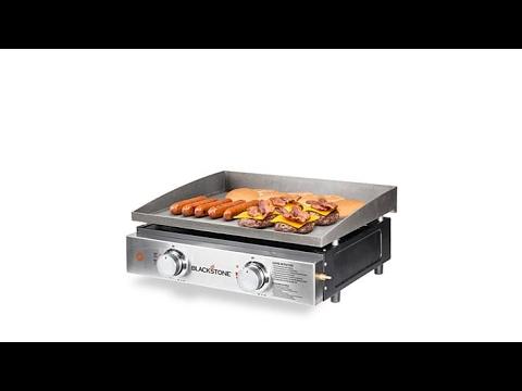 "Blackstone 22"" Portable Outdoor Table Top Gas Griddle"