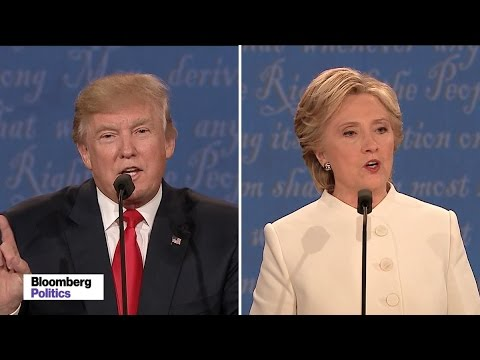 Trump Says Clinton Is 'Such a Nasty Woman'