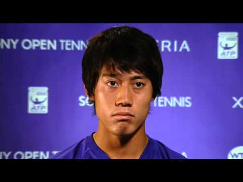 Sony Open Tennis Interview with Nishikori 3-28