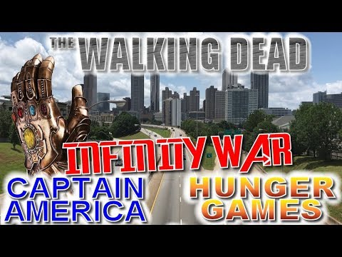 Atlanta Filming Locations - Walking Dead, Avengers, Spider-Man, Captain America, Hunger Games
