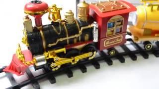 Детская игрушечная железная дорога поезд, настоящий дым, Путешественник на управлении