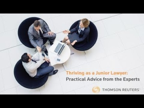 Thriving as a Junior Lawyer: Practical Advice from the Exper