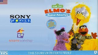 Sesame Street: Elmo's Musical Adventure—The Story of Peter & The Wolf VHS (01-09-01) (USA)