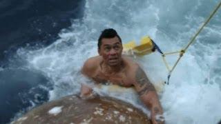 Deckhand Jumps Overboard   Deadliest Catch