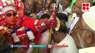Theyyam at Masjid attracts wide attention in Kasargode│Reporter Live