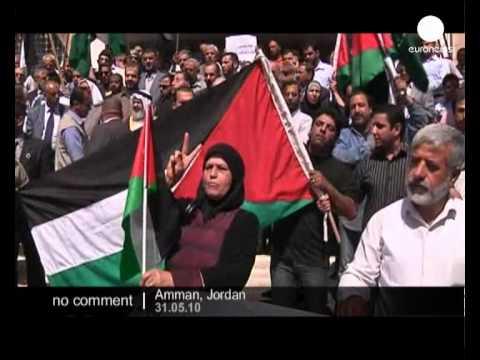 Jordan: Demonstration Against Israeli Attack On Aid Flotilla - No Comment