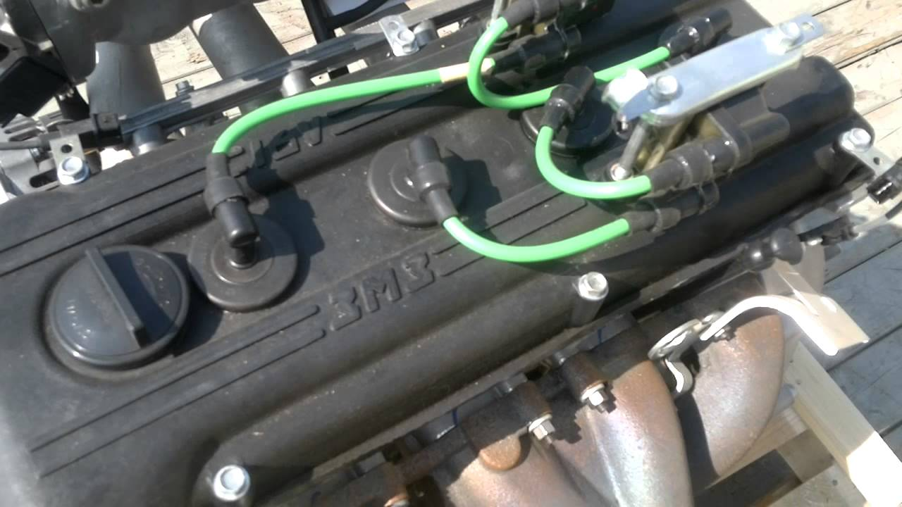 двигатель 406.схема подсоединение волга