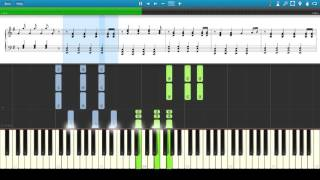 Alex Skrindo And Stahl Moments Synthesia Tutorial
