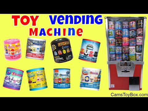 Toy Vending Machine  Surprises Sponge Bob...