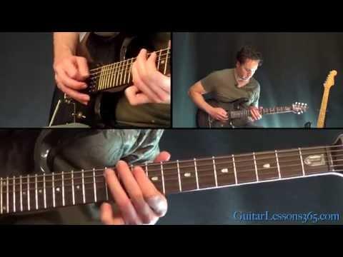 Home Sweet Home Guitar Lesson Pt.2 - Motley Crue - Solo