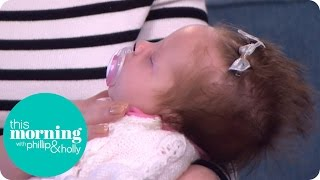 Holly Meets the Baby Whose Hair Takes Two Hours to Style Every Day! | This Morning