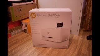 HP Colour LaserJet Pro M254dw Wireless Laser Printer - Unboxing [HD]