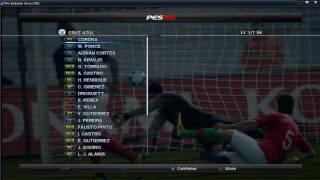 Listo el parche de la liga mexicana para el pes 2012 (PC)