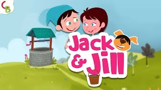 Jack and Jill Went Up the Hill - Nursery Rhymes for Babies and Kids | Cuddle Berries Children Songs