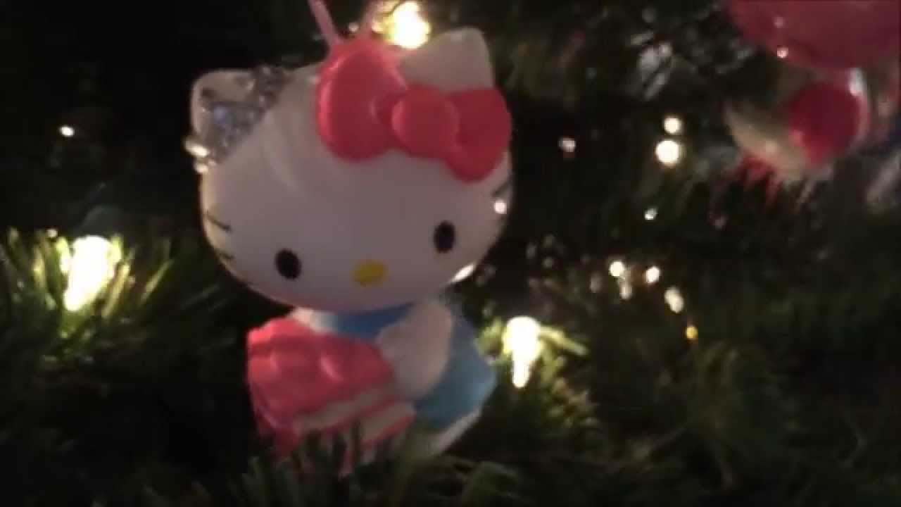 HELLO KITTY CHRISTMAS TREE  YouTube