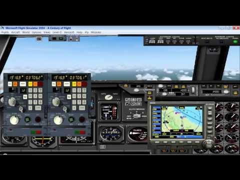 L-1011 Tristar crusing via INS(Inertial Navigation System-please see Description)