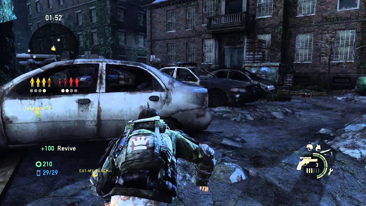 The Last Of Us Remastered Factions MP Survivor On Downtown Map - The last of us remastered maps