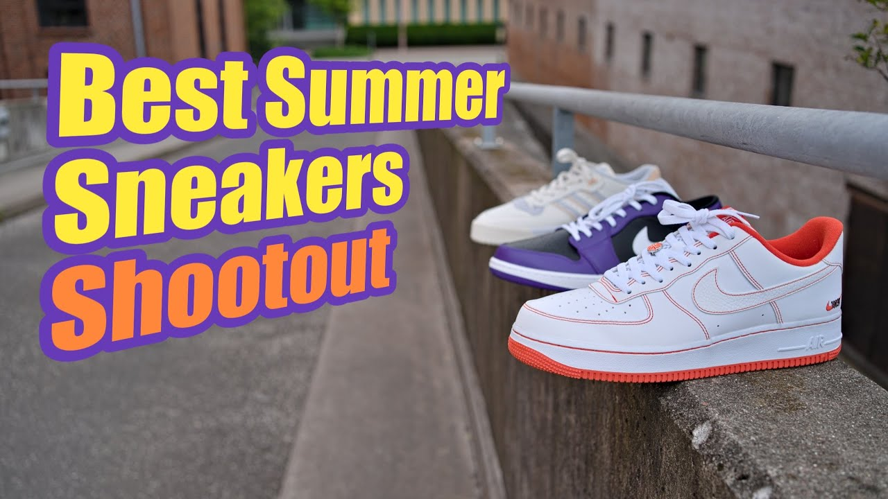 Best Sneakers for the Summer: Nike Air Force 1 Low /Air Jordan 1 Low & Adidas Rivalry Low Shootout