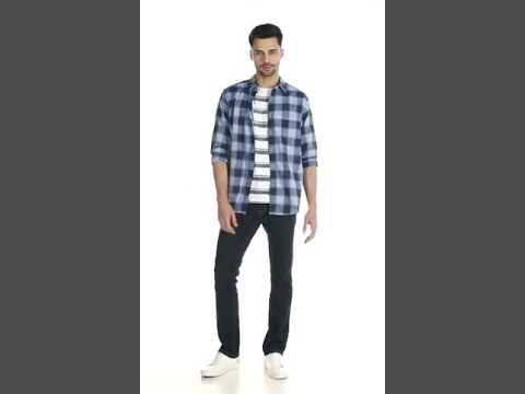 Westsport by Westside Blue Relaxed Fit Shirt 300695766001