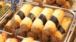 Korean Street Food - $0.9 Amazing Price of Fish Cake Master at Traditional Market in Seoul