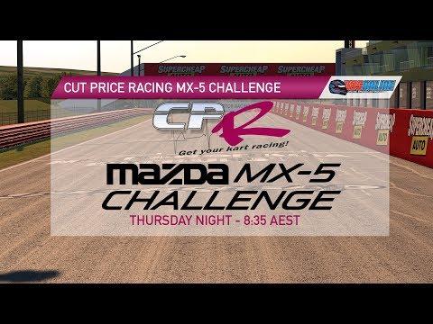 Cut Price Racing Mazda MX5 Challenge - Round One Bathurst