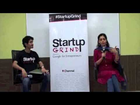 Chitra Ravi (EZVidya) at Startup Grind Chennai