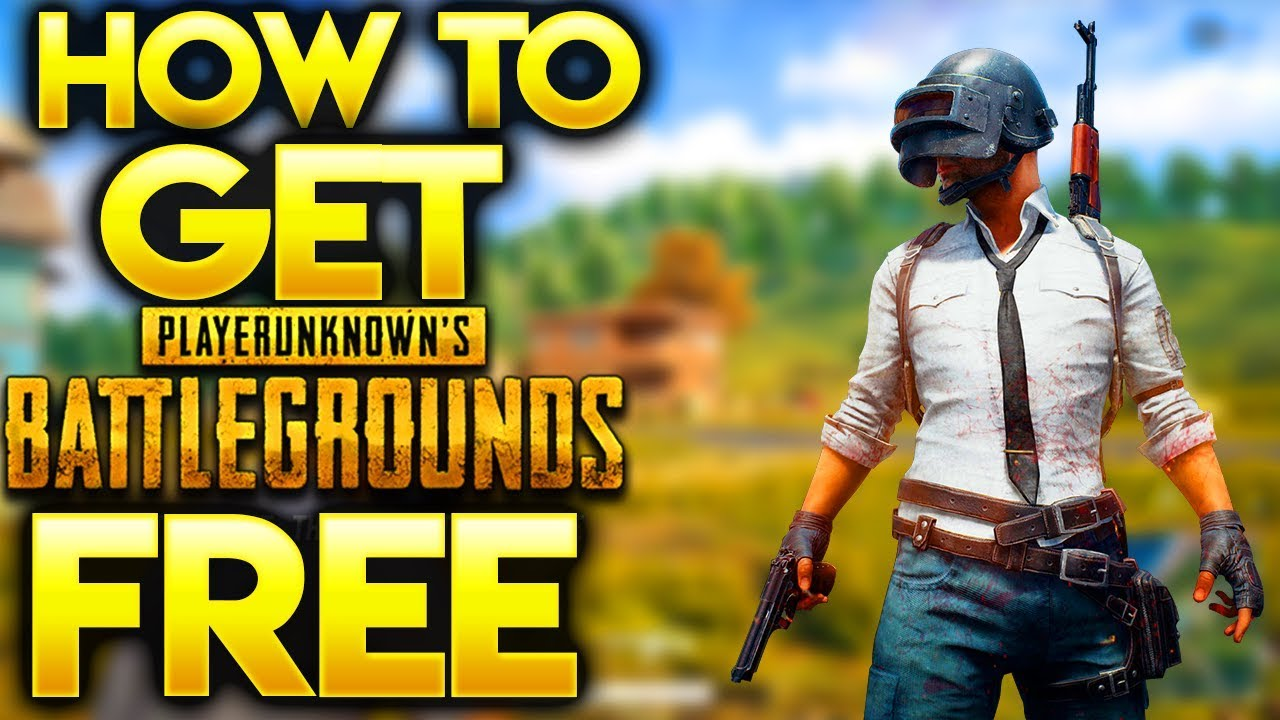 how to play player unknown battlegrounds for free