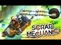 Scrap Mechanic - TRANSFORMING MOTORCYCLE BIKE - Let's Play Scrap Mechanic Gameplay