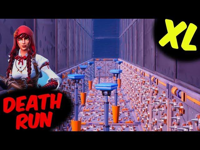 GIGANTISCHE DEATHRUN - Fortnite Creative XL