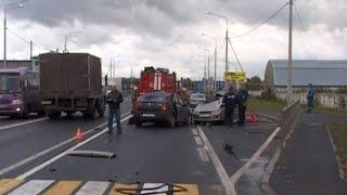 В Вологодском районе в ДТП погиб человек: видео