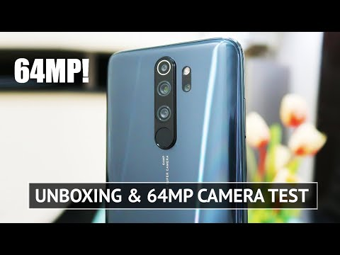 Xiaomi Redmi Note 8 Pro Unboxing 64MP CAMERA