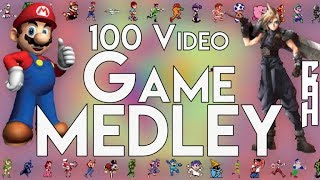 100 Video Game Song Medley - Chris Allen Hess Feat: The Video Game Music Community