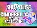Surprise Disney Cinderella magic flannel wash cloth