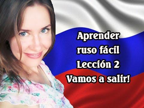 Aprender Ruso Facil: Vamos A Salir!