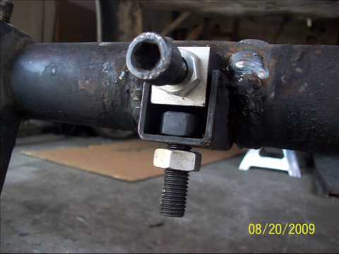 Vw Front Adjusters Amp Drop Spindles Youtube
