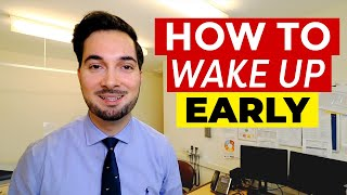 Wake Up Early | H๐w To Wake Up Early