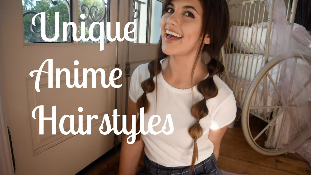 anime inspired unique hairstyles