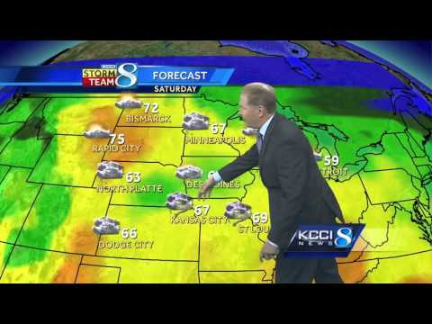 Videocast: Take a look at your wet weekend forecast