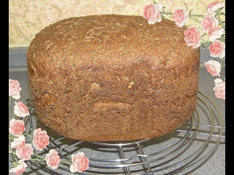 Хлеб ржаной ( заварной ) в хлебопечке