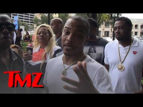 T.I. Leads Protest Against Houston's Restaurant, They Discriminate Against African Americans | TMZ