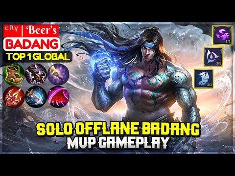 solo-offlane-badang-mvp-gameplay-[-top-1-global-badang-]-ᶜᴿᵞ-|-beer's---mobile-legends