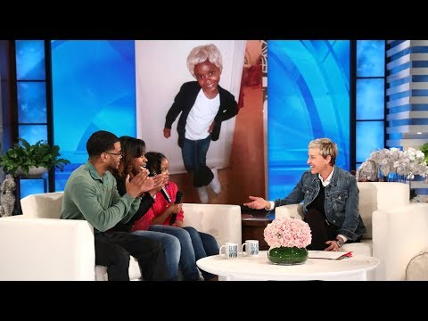 Ellen's 12 Days Surprise for the Dixon Family