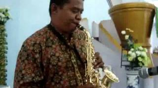 SENTUH HATIKU. with Soprano Saxophone, Players by Marvin Apituley