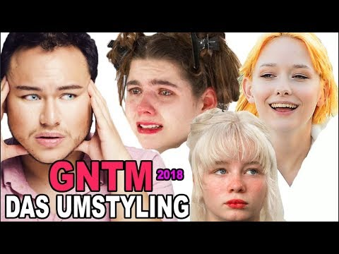 Gntm 2018 Das Umstyling Friseur Reagiert Youtube