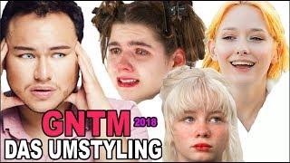 GNTM 2018 DAS UMSTYLING Friseur Reagiert