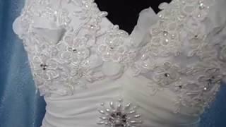 Свадебное и вечернее платье средней длины... Новое веяние в свадебной и вечерней моде...