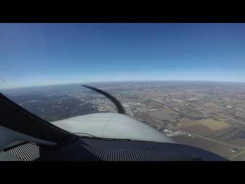 Approach : KUMP-Lincoln airport : Malibu Mirage Part 1