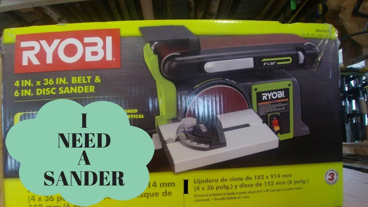 Ryobi Belt Disc Sander Model Bd4600