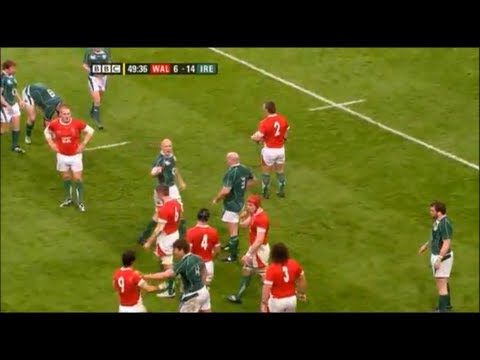 """An act of sheer stupidity by Donncha O'Callaghan"""
