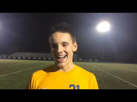Grand Rapids Catholic Central's Alec Winden discusses state semifinal win